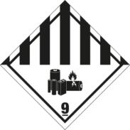 Fareseddel 9A